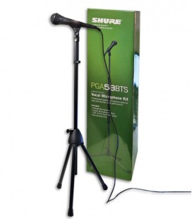 Microphone Shure PGA 58 BTS Performance Gear High with Cable and Stand