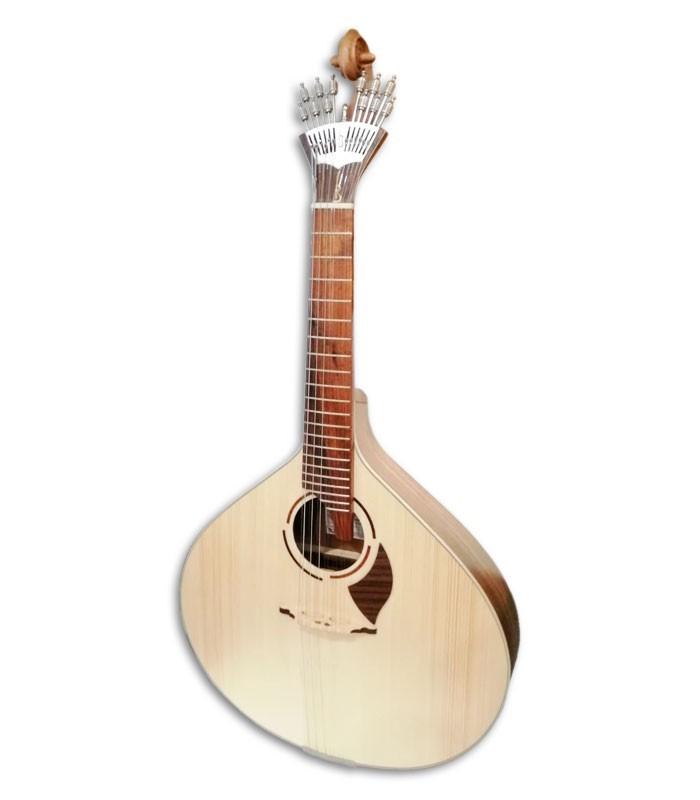 Foto de la guitarra portuguesa APC modelo 308LS Lisboa de frente y en trés cuartos