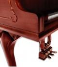 Foto detalle del mueble Piano de Cola Petrof P173 Breeeze Chipendale
