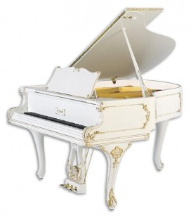 Piano de Cola Petrof P173 Breeze Rococo Style Collection
