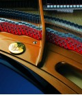 Photo of the interior of the Grand Piano Petrof P284 Mistral