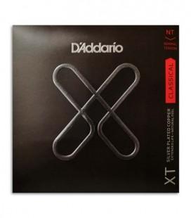 Jogo de Cordas Daddario XTC45 Guitarra Cl叩ssica Tens達o Normal