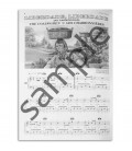 Foto de uma amostra do livro ALB B Método Piano Mágico Álbum B