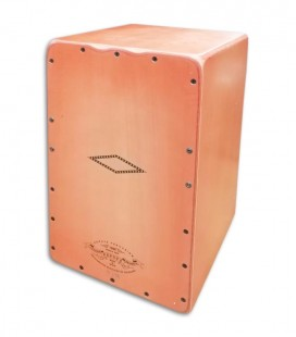 Photo of the cajon Pepote model Tía front and in three quarters