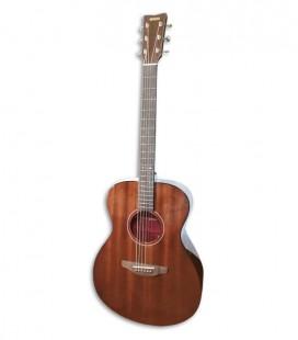 Foto de la Guitarra Folk Yamaha modelo Storia III color Chocolate Brown de frente y en trés cuartos