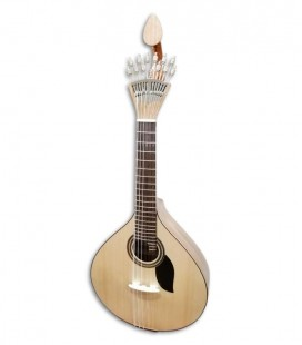 Photo of the Artimúsica Portuguese Guitar model Simple GP70CCAD Coimbra 3/4 size front and three quarters