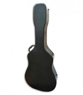 Foto do Estojo Ortolá 987/503 para Guitarra Folk de frente e em três quartos