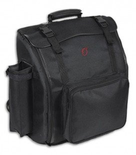 Image of the Bag Ortolá model 0139 for Accordion of 120 Keys front and in three quarters