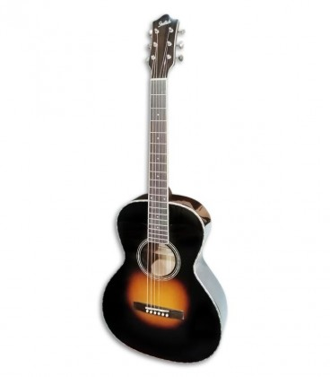 Photo of the Acoustic Guitar Gretsch model G9531E front and in three quarters