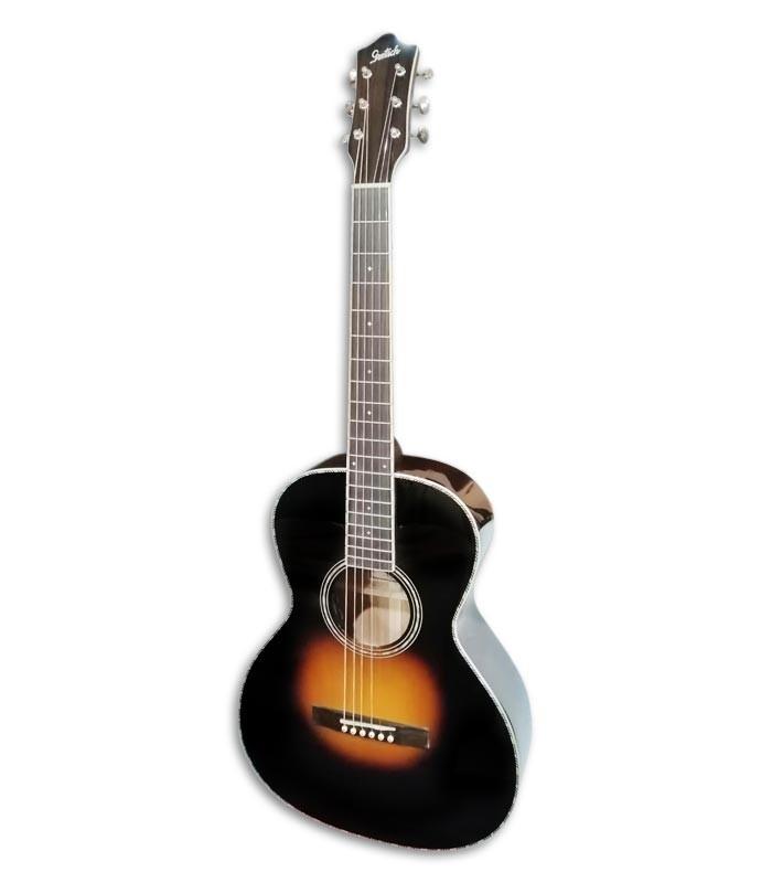 Foto de la Guitarra Acústica Gretsch modelo G9531E de frente y en trés cuartos