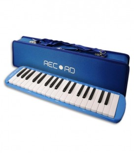 Photo of the Melodica Record M 37 Blue with case
