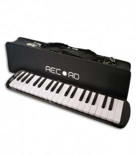 Photo of the Melodica Record M 37 Black with case