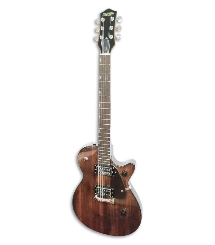 Foto de la Guitarra Eléctrica Gretsch modelo G2210 de frente y en trés cuartos