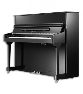 Piano Vertical Ritmuller AEU118S PE Silent Classic 118cm Negro Pulido 3 Pedales