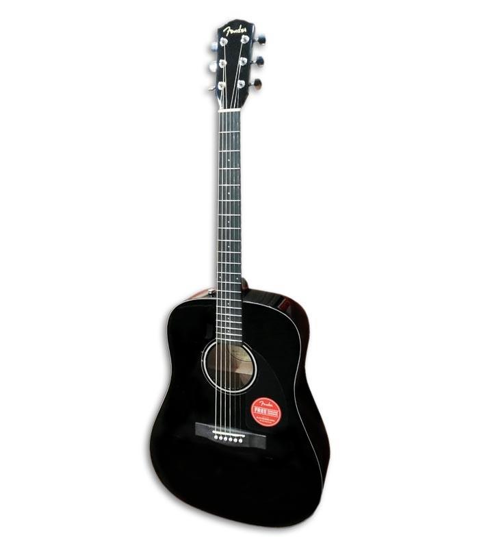 Foto de la Guitarra Acústica Fender modelo CD 60 Dread V3 DS de frente y en trés cuartos