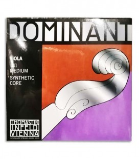 Foto da capa da embalagem do Jogo de Cordas Thomastik Dominant 141 para Viola 4/4