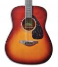 Foto de la tapa y roseta de la Guitarra Folk Yamaha modelo FG800