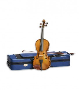 Photo of the Bow Viola model Student I 15 with Bow and Case