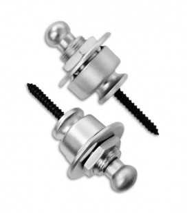 Photo of the two pins with the Straplock Schaller model 14010301 Strap Blocking System