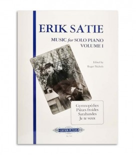 Photo of the cover of the Book Satie Pieces for Piano EP7342