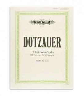Livro Peters Dotzauer 113 Exercícios para Violoncelo Vol 1 Nº 1-34 EP5956