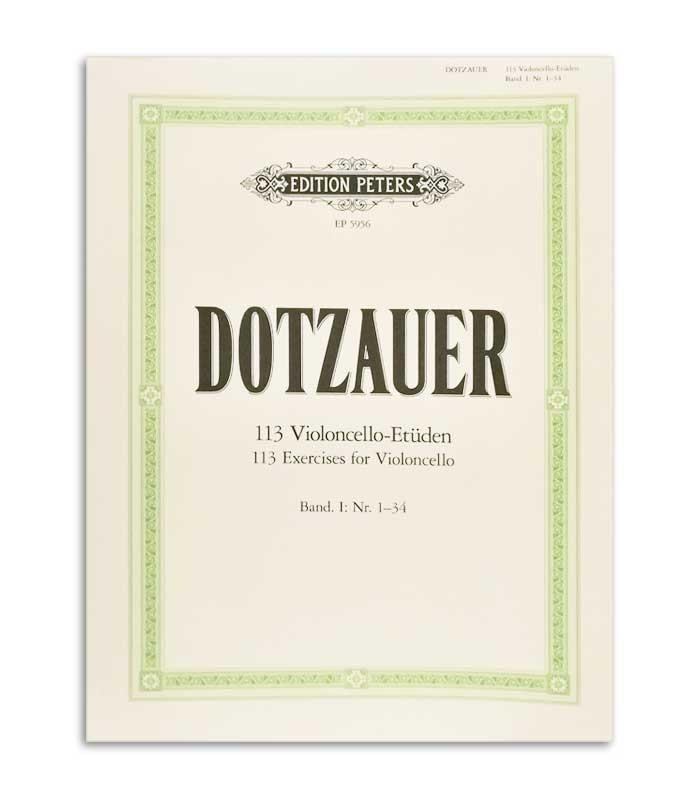 Foto de la portada del Libro Dotzauer 113 Ejercicios para Violonchelo Vol 1 Nº 1-34 EP5956