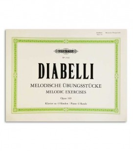 Photo of the cover of the Book Peters Diabelli Melodic Exercises OP 149 EP2442