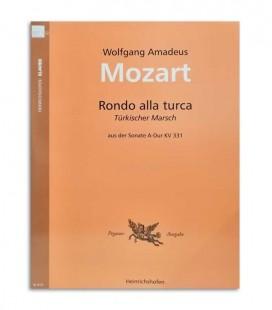 Foto de la portada del Libro Mozart Marcha Turca N414