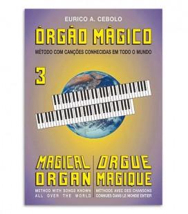 Photo of the cover of the book Eurico Cebolo OM 3 Método Órgão Mágico 3
