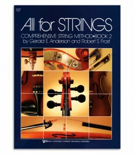 Foto da capa do Livro Anderson and Frost All for Strings Violin Vol 2