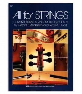 Foto de la portada del Libro Anderson and Frost All for Strings Violin Vol 2