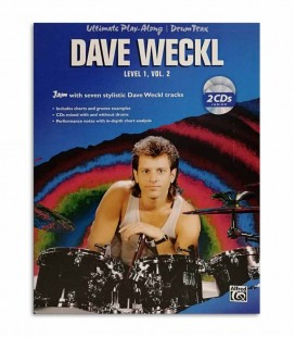 Photo of the cover of the book Dave Weckl Ultimate Play Along Level 1 Vol 2 IMP4148A