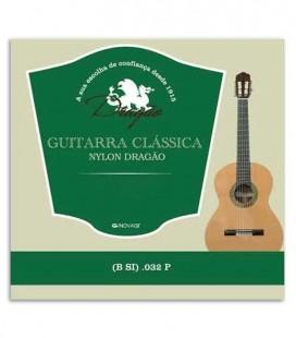 Foto de la portada de la Cuerda Dragão 831 para Viola Nilón 032 2ª Si