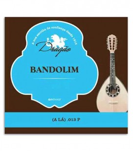 Photo of the package cover of the Dragão Mandolin String 801 2nd A