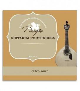 Corda Individual Dragão 871 para Guitarra Portuguesa 013 3 Mi Aço