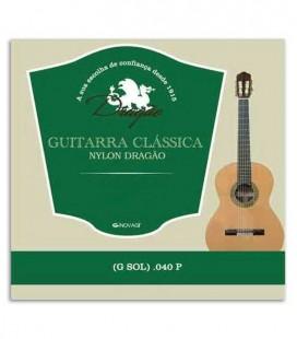 Dragão Viola String 828 Nylon 040 3rd G