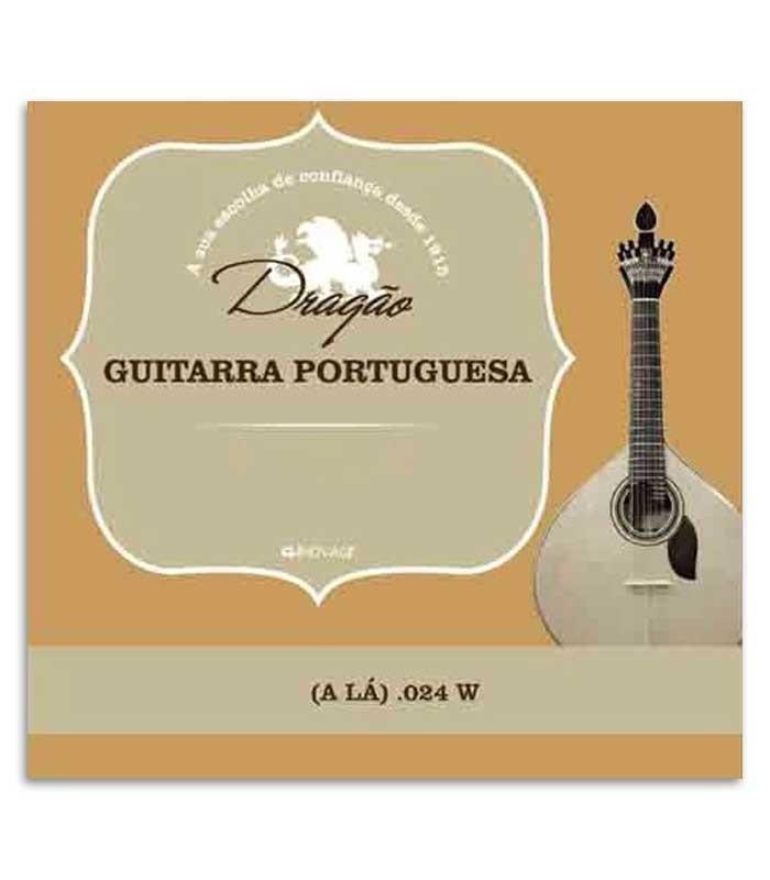 Cuerda Dragão 868 para Guitarra Portuguesa .024 2ª La Bordón