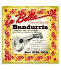 Foto da capa da embalagem do Jogo de Cordas LaBella MB 550 para Bandúrria