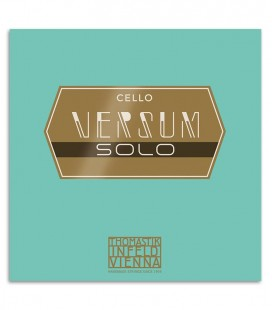 Photo of the cover package of the Cello String Set Thomastik Versum Solo