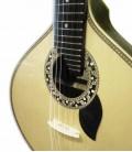 Photo detail of the rosette of the Artimúsica Portuguese Guitar GP73L