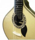 Foto detalhe da roseta da Guitarra Portuguesa Artimúsica GP73L