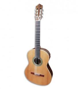 Foto de la guitarra clásica Paco Castillo 201