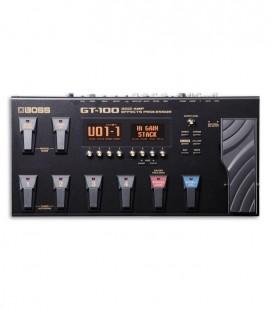 Pedaleira Boss GT 100 Processador de Efeitos Portátil