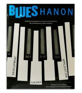 Foto de una muestra del libro Blues Hanon Piano