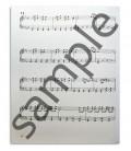 Foto de uma amostra do livro Blues Hanon Piano