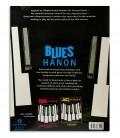 Foto da contracapa do livro Blues Hanon Piano