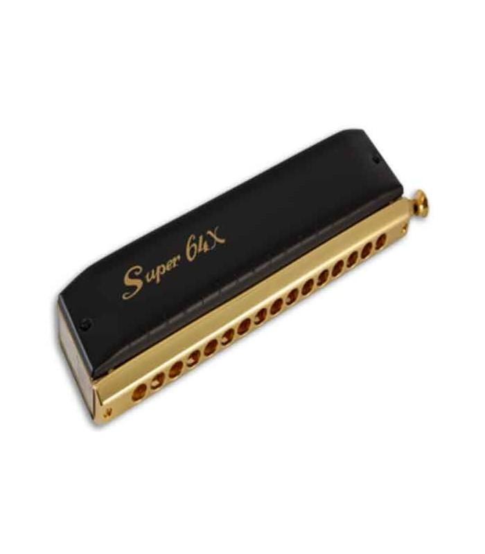 Foto da harmónica Super 64 X