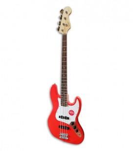 Guitarra Baixo Fender Squier Affinity Jazz Bass LRL RCR