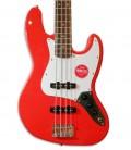 Foto do corpo da Guitarra Baixo Fender Squier Affinity Jazz Bass LRL RCR