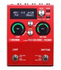 Pedal Boss RC 10R Loop Station e Caixa de Ritmos